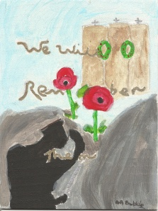 The 2nd of my Remembrance paintings